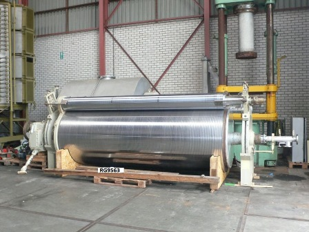 Used Sulzer-Escher Wyss Roll Cooler type EKO-1890