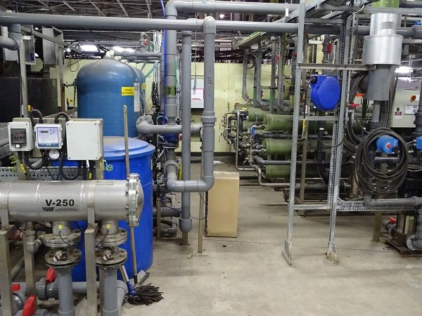 Reverse Osmosis Desalination Plant with Capacity 30 m3/hour