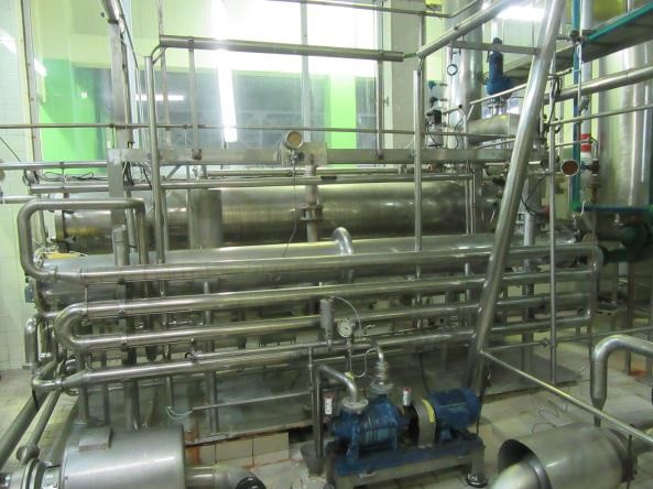 UHT Unit and Homogeniser, 20000 litres/hour