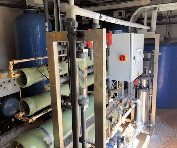 Nalco Reverse Osmosis System with Capacity 4000 Litres/Hour
