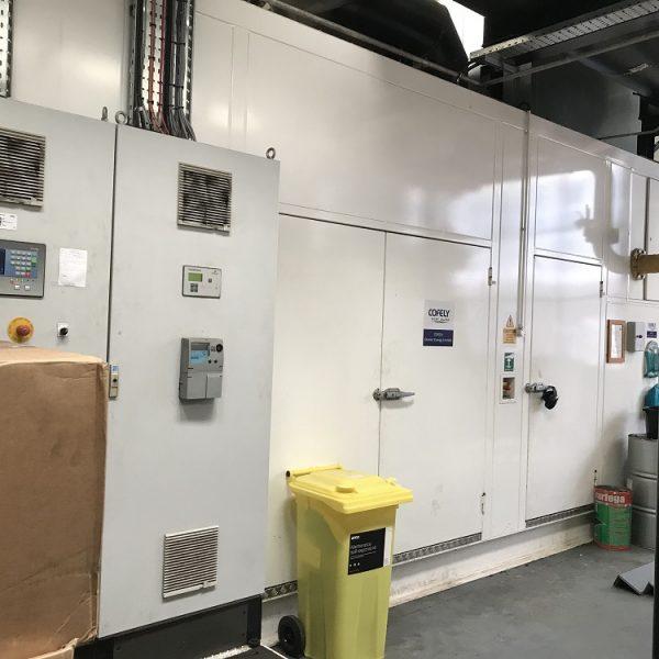 1600 kW 50 Hz Cogenco Cogeneration Plant