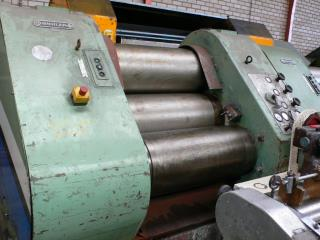 Buhler Type SDT-800 Carbon Steel Triple Roll Mill