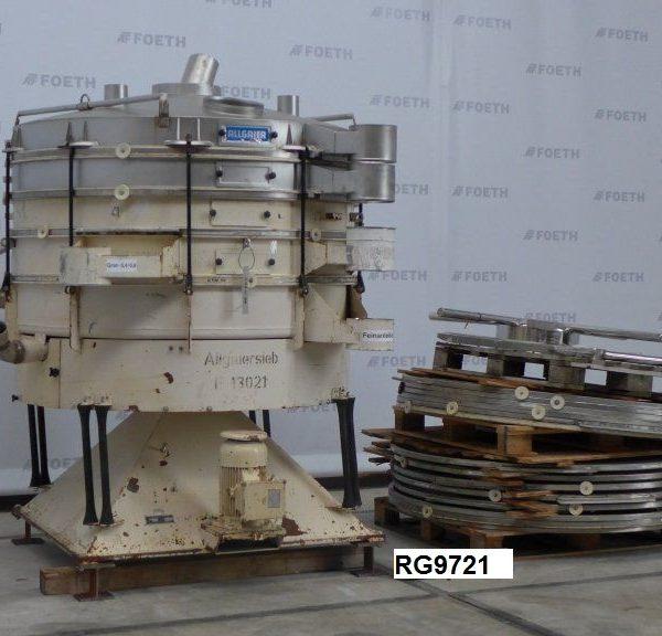1600 mm, 4 Deck, Stainless Steel Allgaier TSM 1600 DSV Screen