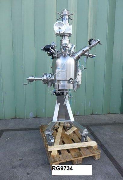 0.07 Sq. M. Olsa Dryfilter 70 Stainless Steel Nutsche Filter Dryer