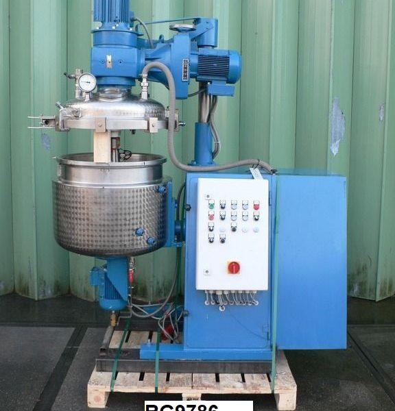38 Gallon 2 HP Haagen & Rinau Stainless Steel Planetary Mixer