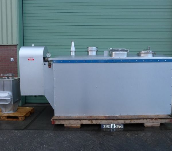3,000 Litre Stainless Steel Corneloup SA Ribbon Blender