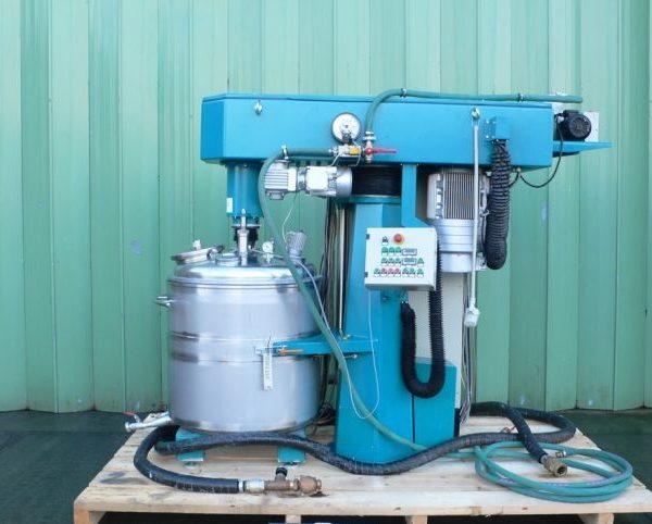 18.5 kW Coatema Coating Stainless Steel Dissolver
