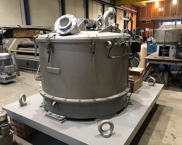 1250mm X 650mm 316L Stainless Steel Vertical Basket Centrifuge