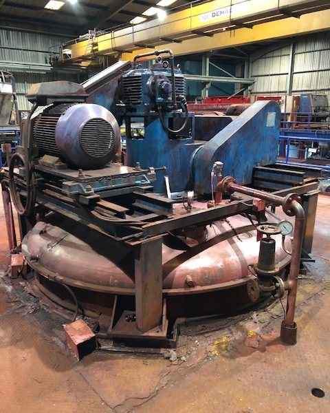 5,000 Litre JH Day Model MBX-1760 Stainless Steel Conical Mixer Dryer
