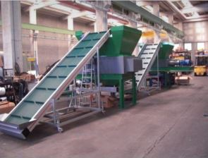 Tyre / Tire Recycling Line with Capacity 3 Tons / Hour