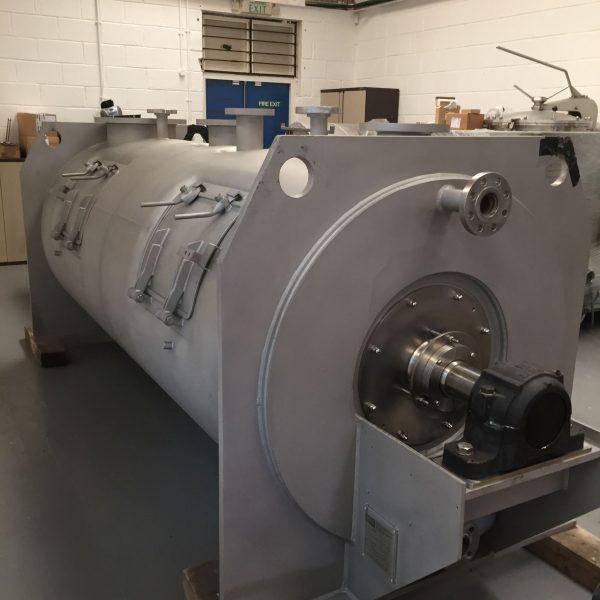 3000 Litre Morton FKM 3000 Stainless Steel Ploughshare Mixer