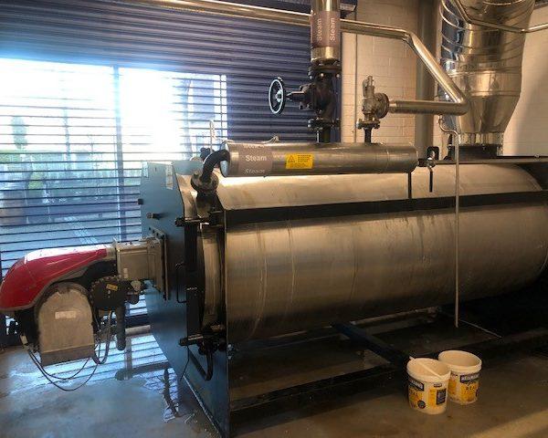 2000KG/Hour 170 PSI LPV Caldaie Model CF2000 Steam Generator System