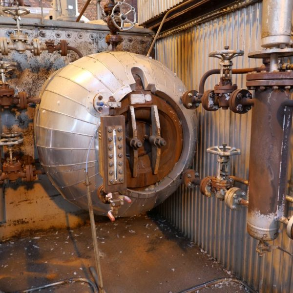 176,373 #/Hour 246 PSI Duqenne M920 Gas Fired Boiler