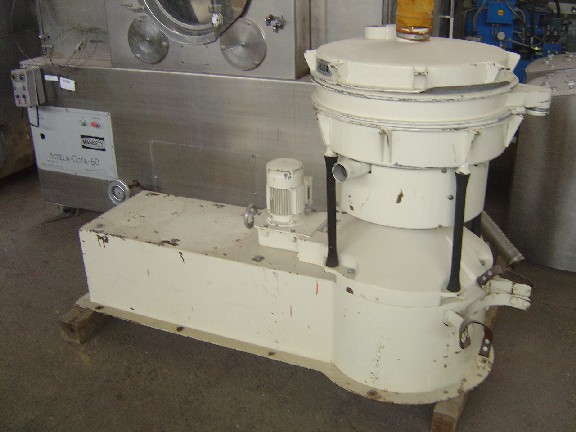 600 mm, 2 Deck, Stainless Steel Allgaier (Germany) Model APTS 600/2 Rotary Screen