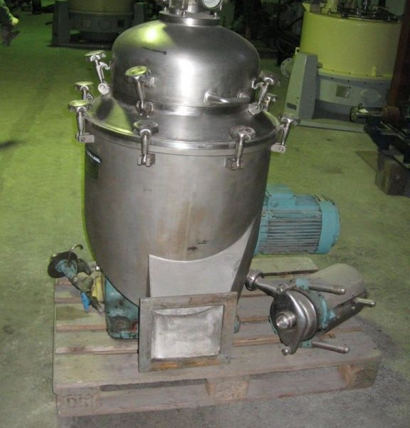 Alfa Laval Model BRPX-207-SVG Stainless Steel Desludger Centrifuge