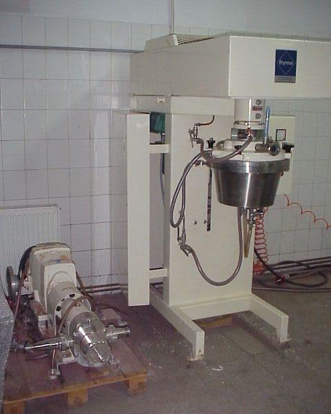1 Gal Fryma Model MSM-32 Co-Ball Mill
