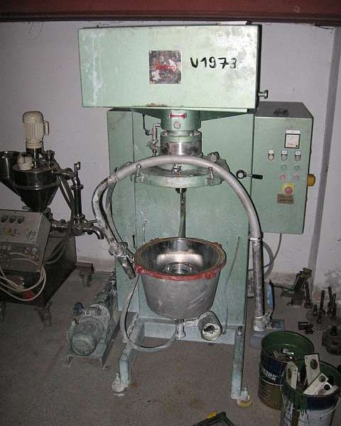 1 Gal. Fryma Model MSM-32 Co-Ball Mill