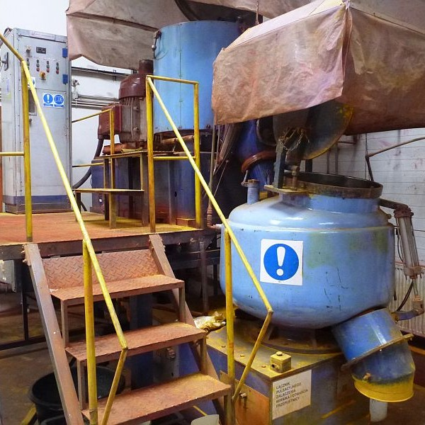 150/400 Liter Veb Starkstrom (Germany) Mixer/Cooler