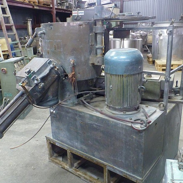 100 Liter TK Fielder Model TR100 Stainless Steel Hi-Intensive Mixer