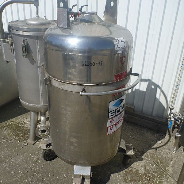 280 Litre Stainless Steel Vertical Storage Tank