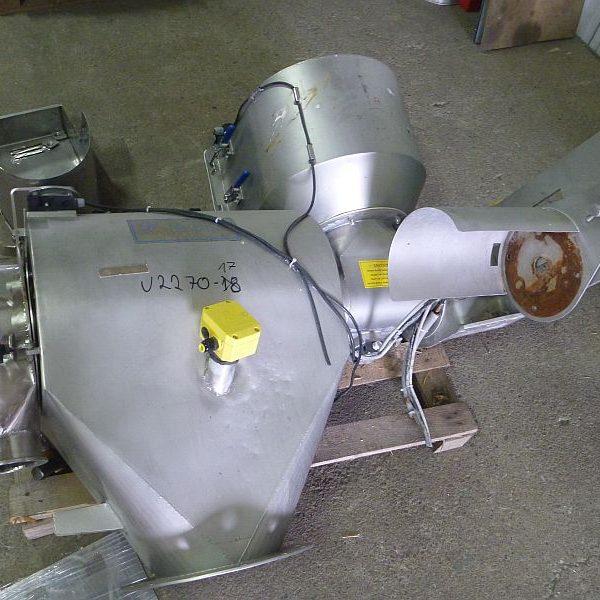 6″ X 2′ Kemutec Stainless Steel Sifter