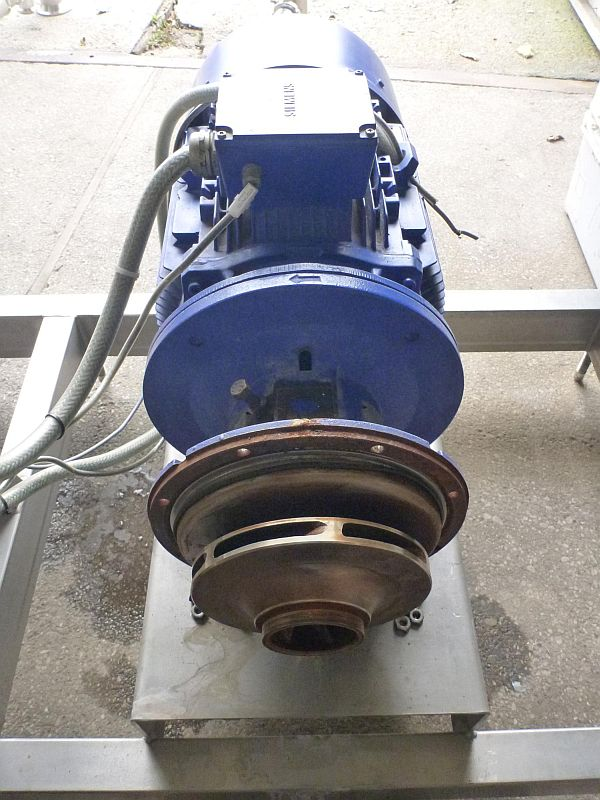 Used 80 m3/h Stainless steel contact parts centrifugal pump