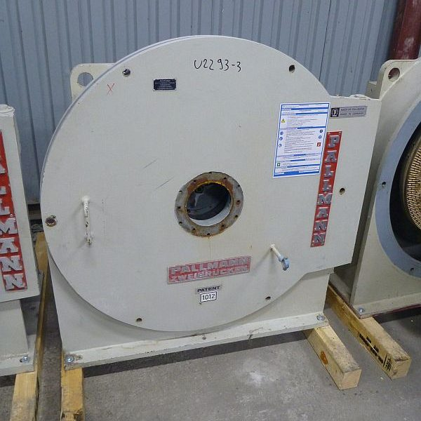 Grinding mill by Pallmann type PR8 with milling stones