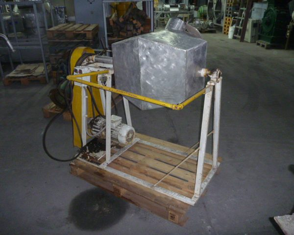 2 Cubic Foot Stainless Steel Tumbling Mixer