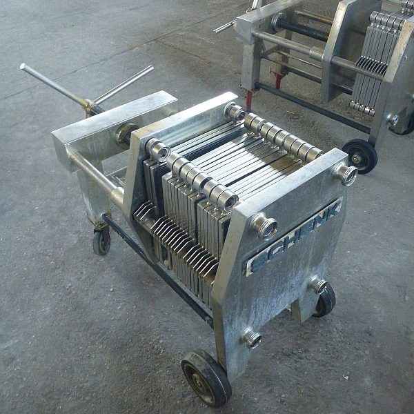 3 m2 filtration surface stainless steel filter press by Schenk type plate and frame