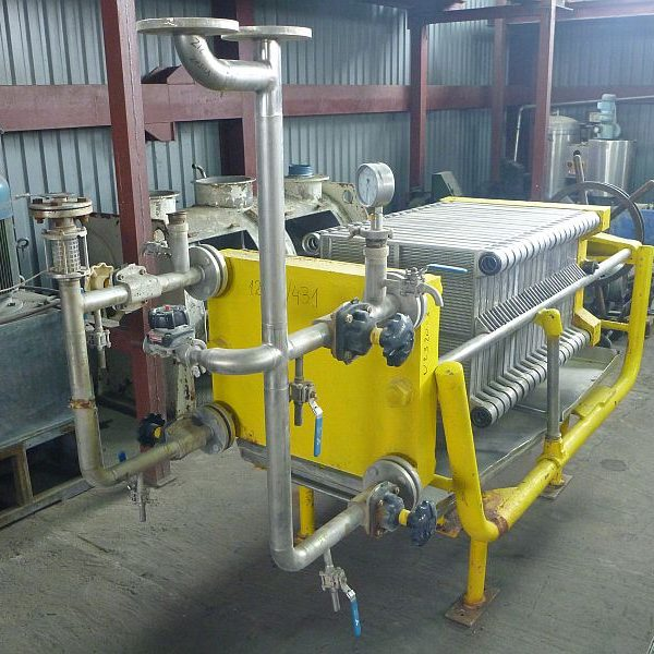 12.5 m2 Stainless Steel Contact Parts Filter Press Carlson Plate And Frame