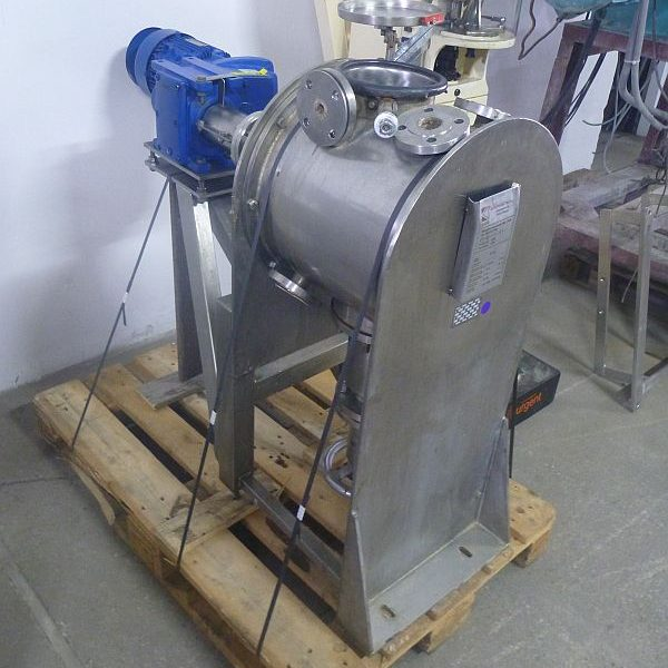25 Liter Kates Stainless Steel Paddle Mixer With Jacket ATEX Design