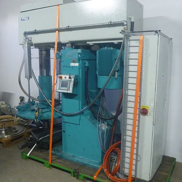 264 Gallon 45 KW Buhler Mixer Type SPM-50-HT With Butterfly Agitator For Work On Vacuum
