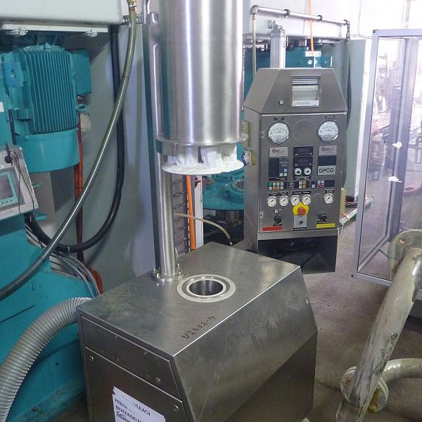 Glatt Model GPCG-1 Lab Size Mobile Fluid Bed Dryer