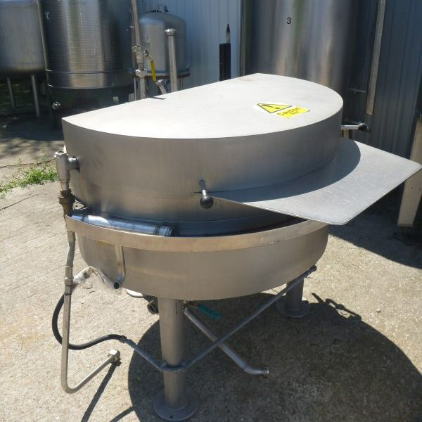 300 L Vertical Melting Tank With Heating Jacket And Grate