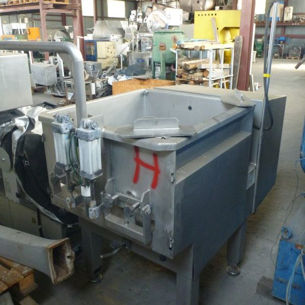 330 L Total Volume Stainless Steel Twin Shaft Paddle Mixer Alco Food