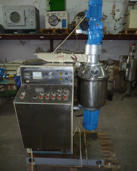 8 Gallon 12 HP UCR Stainless Steel Homogenizing Mixer