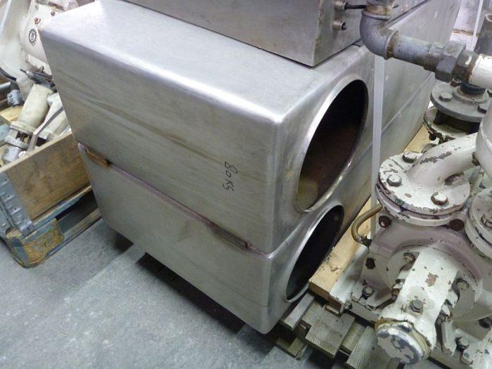 Теплообменники отто Кожухотрубный испаритель Alfa Laval DED 745 Чебоксары