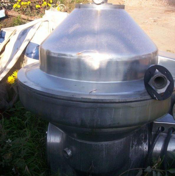 Nagema SMZD-10 Stainless Steel Milk Separator