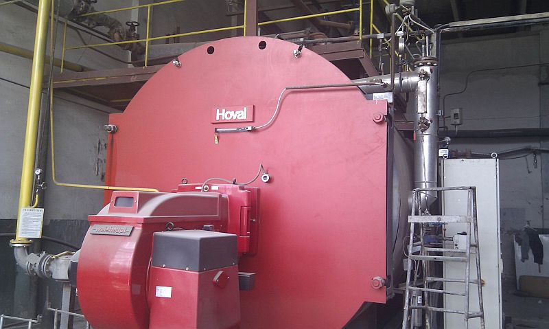 Boiler Water Column ~ Used hour psi hoval steam boiler ug