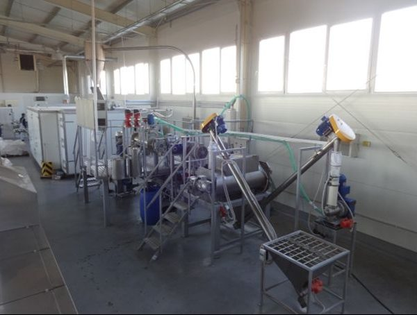 50 kg/h food extrusion line by Rolmark