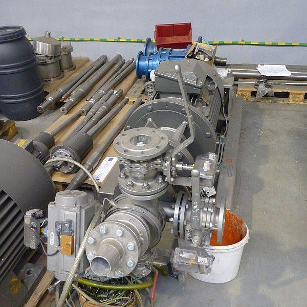 55 kW Profarb Model PDI55F Inline mixer