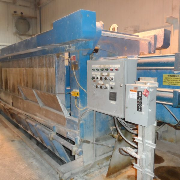 Filtration & Separation Dynamics Recessed Polypropylene Filter Press
