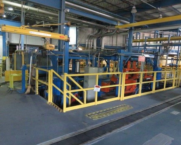 80″ X 60″ Film Roll Wrapping Line