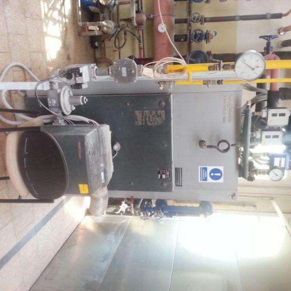 395 Kg/Hour Viessmann Vitoplex Boiler