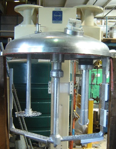 1300 Litre Fryma Model VME-1300 Stainless Steel Homogenizing Mixer