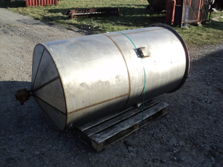 800 Litre Stainless Steel Vertical Storage Vessel