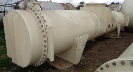 9498 Sq. Foot (882 Sq. Meter) Crown Iron Works Horizontal Evaporator Condenser