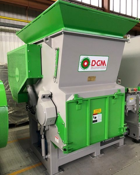 55kW DGM DGS 1200 Shredder, New & Unused