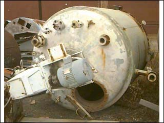 1600 Gallon 60 PSI Internal, 80 PSI Jacket 316L Stainless Steel Reactor