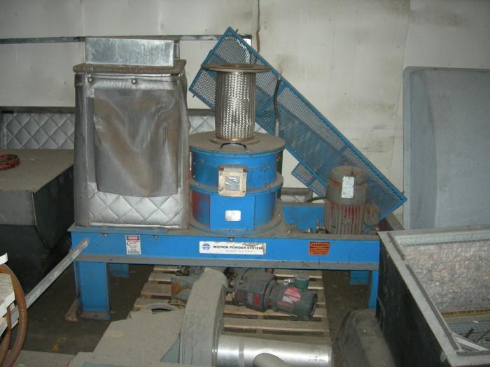 Used Hosokawa Dry Classification System Mikro Pulverizer